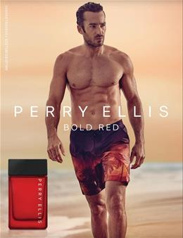 PERRY ELLIS BOLD RED