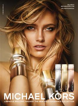 MICHEAL KORS THE NEW GOLD FRAGRANCE COLLECTION