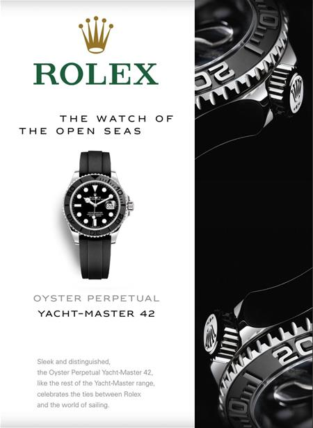 ROLEX OYSOER PERPETUAL YACHT-MASTER 42