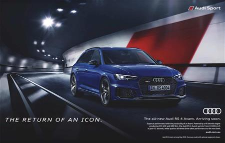Audi The all-new Audi RS 4